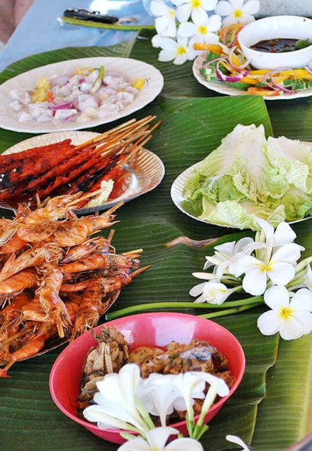 Cours de cuisine locale aux Philippines