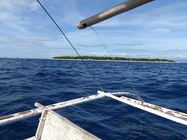 Balade en bateau traditionnel aux Philippines