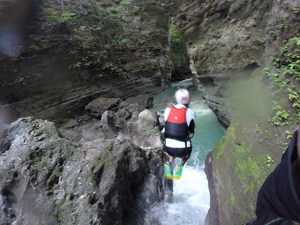Canyoning aux Philippines