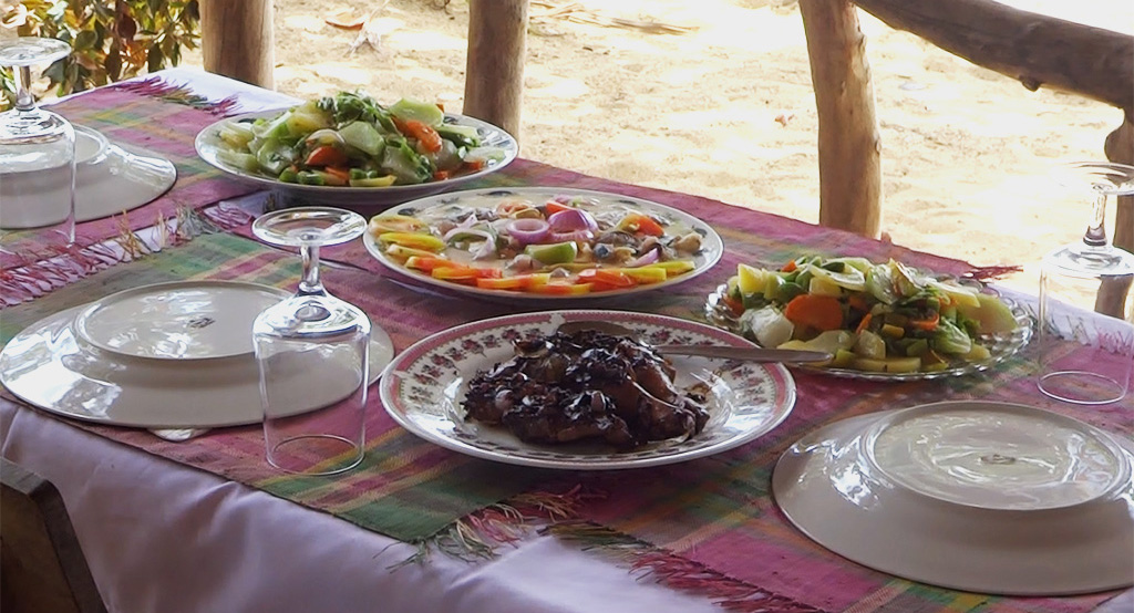 Cours de cuisine aux Philippines