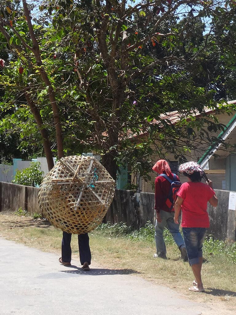 Village traditionnel Philippin