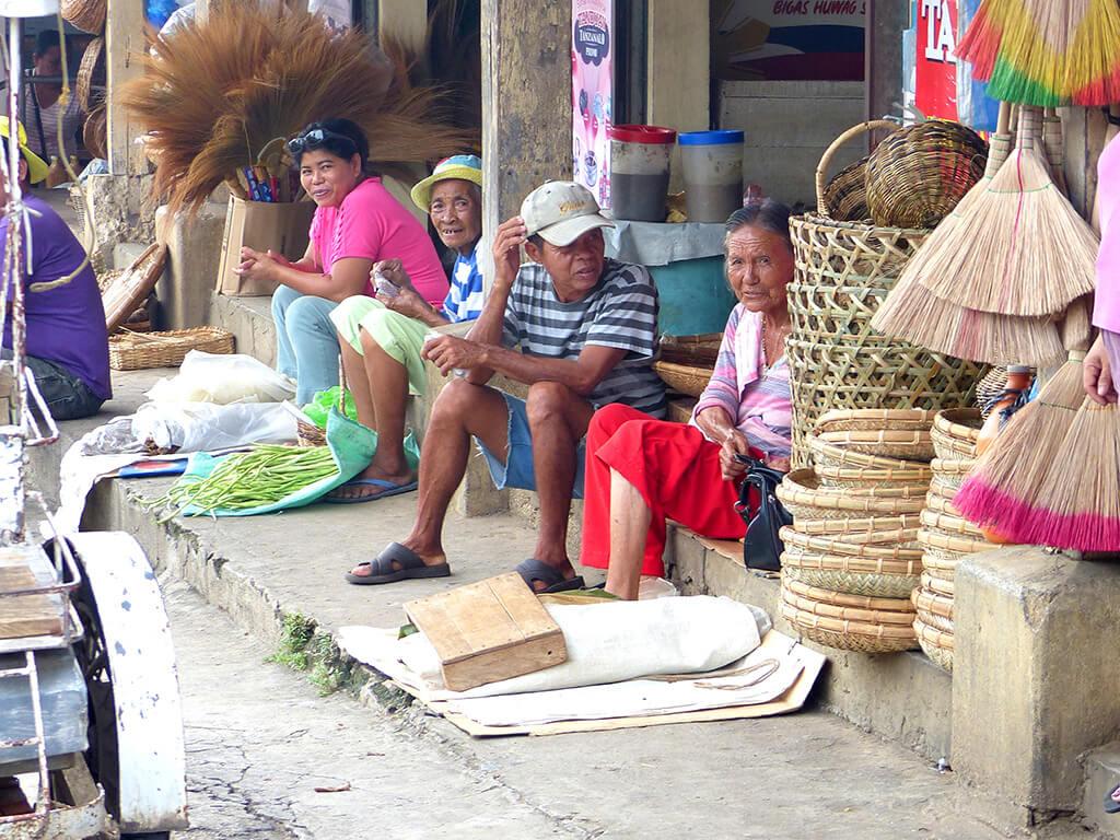 Marché traditionnel Philippin