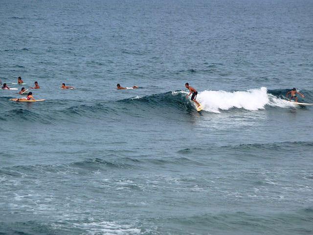 Cloud 9, célèbre spot de Surf aux Philippines.