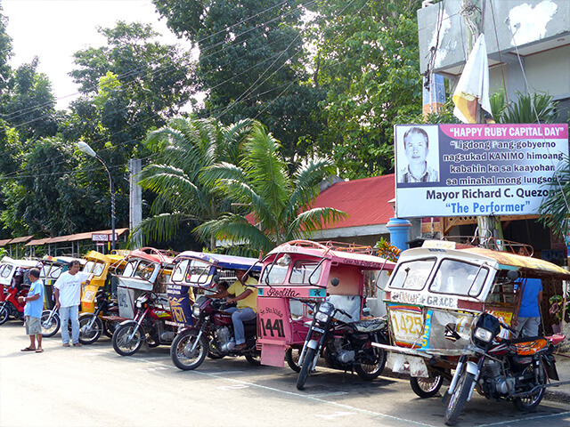 Transport local aux Philippines