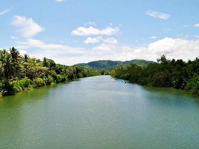 Rivière aux Philippines