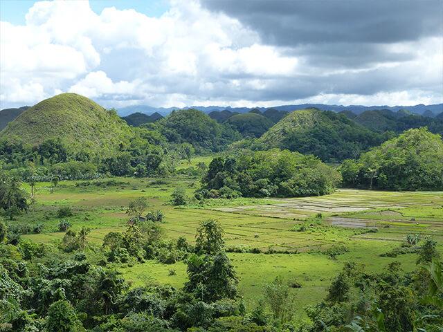 Les collines Chocolat de Bohol