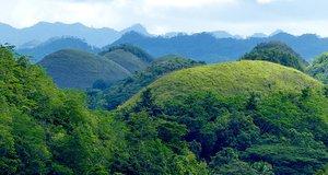 L'île de Bohol aux Philippines