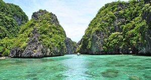 L'île de Palawan aux Philippines