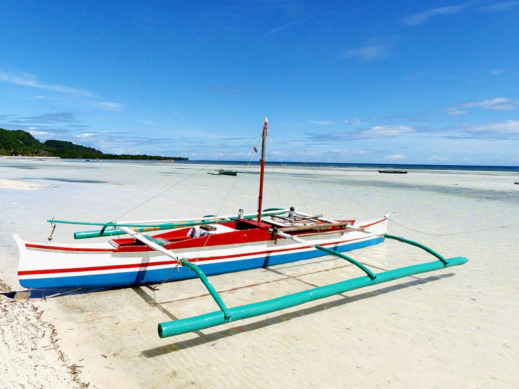Anda beach à Bohol.
