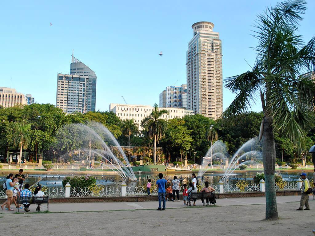 Centre de Manille, Philippines.