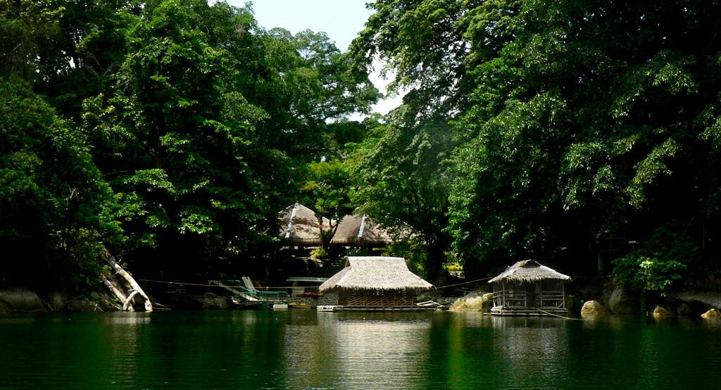 Village Atypique sur l'île de Negros.