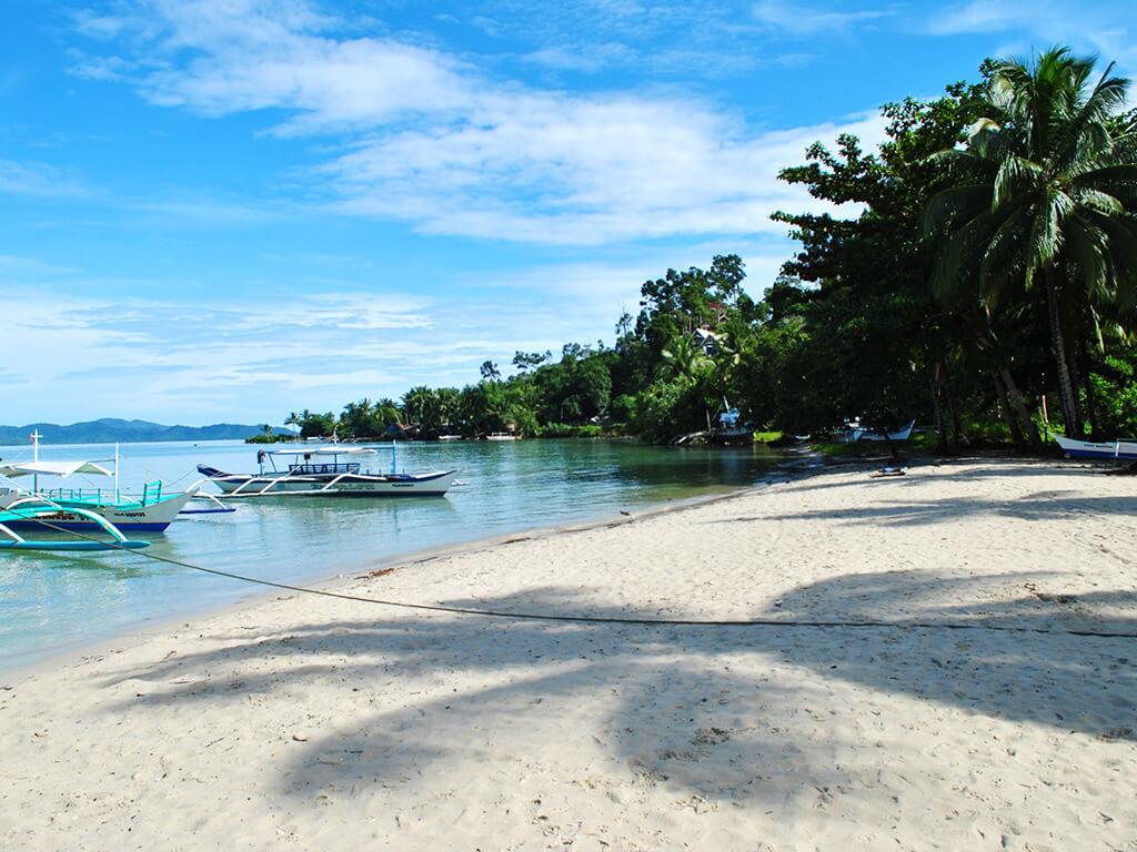 Plage à Palawan, Philippines.