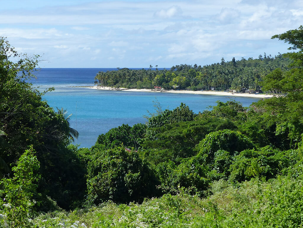 Point de vue à Siquijor.