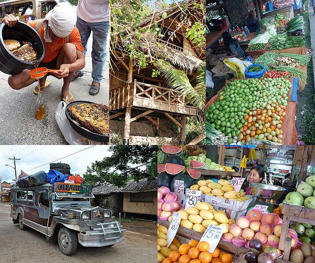 Vie locale aux Philippines.